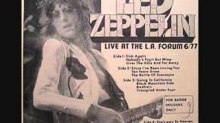 getlinkyoutube.com-Led Zeppelin - (For Badgeholder's Only) Live at the Forum, Los Angeles 06/23/1977