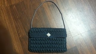 getlinkyoutube.com-CROCHET How To #crochet  Puffy Stitch Purse! TUTORIAL #16