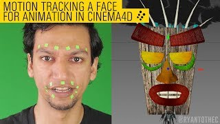 Motion Tracking a Face for Animation in Cinema4d - Upper State Tutorial