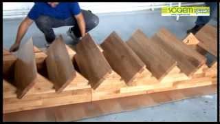 montage d'un escalier contemporain auvergne droit (sogem) - youtube - Construire Un Escalier En Bois Interieur
