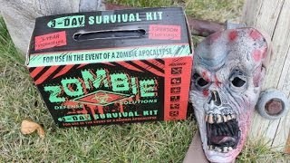getlinkyoutube.com-Zombie 3-Day Survival Kit Review  (2016 Warning)