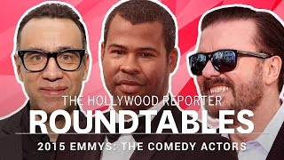 getlinkyoutube.com-Raw, Uncensored: THR's Full, Comedy Actor Roundtable With Ricky Gervais, Jordan Peele and More