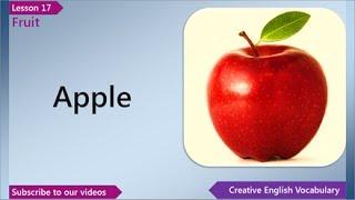 getlinkyoutube.com-Learn English - English Vocabulary Lesson 17 - Fruit | Free English Lessons, ESL English Lessons