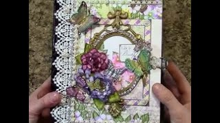 getlinkyoutube.com-PART 3 TUTORIAL HEARTFELT CREATIONS BUTTERFLY MEDLEY - DESIGNS BY SHELLIE