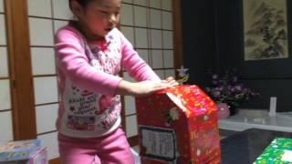 getlinkyoutube.com-★2014★クリスマスプレゼント♬ ⁂ NOA 6歳 ⁂