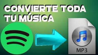 getlinkyoutube.com-Como descargar musica de Spotify 2015 convertir a mp3