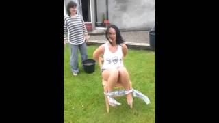 getlinkyoutube.com-[Hilarious] Sexy girl Tied to Chair & Forced into doing the Ice Bucket Challenge (NEW) | Fail