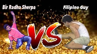 Bir Radha Sherpa (Dance Plus Season 3 Winner) Vs Filipino Guy    Who is Better Dancer ??   