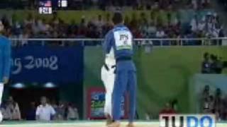 Judo 2008 Olympic Games [-60kg] Hiroaki Hiroaka (JPN) - Taraje Williams-Murray (USA)