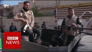 Mosul: The hunt for IS sleeper cells - BBC News