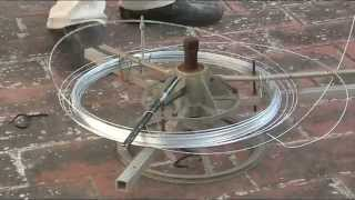 getlinkyoutube.com-Enderezar alambre y cortar para hacer jaulas de perdiz