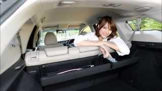getlinkyoutube.com-ドライブ美人 ホンダ 新型シャトル 編 女医 永瀬あやの新型車診察しちゃうぞ!