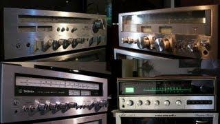 kenwood VS sansui VS akai VS technics ...Vintage super soundtest