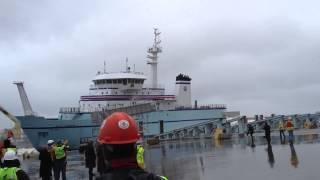 R/V Sikuliaq Launch