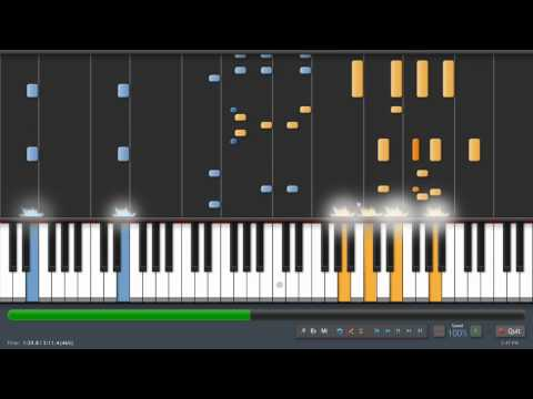 Chrono Cross - Scars Of Time (Time's Scar) - Kyle Landry Version (piano tutorial with sheet music)