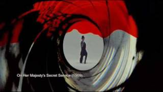 getlinkyoutube.com-James Bond 007 Gun Barrels 1962 - 2008