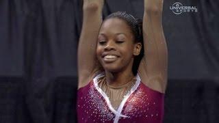 getlinkyoutube.com-Gabrielle Douglas ties for Championship lead - from Universal Sports