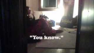 """Ghost Attacks Me in Haunted Attic and Creepy EVP""  4-19-13"