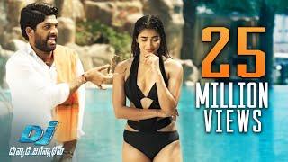 DJ Duvvada Jagannadham Scenes - Pooja Hegde Swimming Pool Scene - Allu Arjun