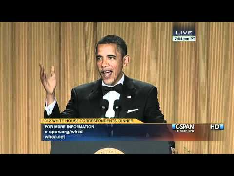 C-SPAN: President Obama at the 2012 White House Correspondents' Dinner