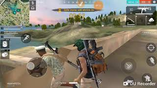 Playing free fire