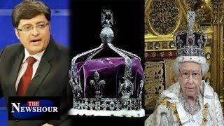 getlinkyoutube.com-Queen Elizabeth Should Return Kohinoor Diamond To India : The Newshour Debate (21st April 2016)