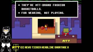 Undertale: Mettaton Reports Live for MTT News (Voice Acting)