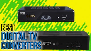 9 Best Digital TV Converters 2017