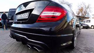 getlinkyoutube.com-MercedesC220CDImitLeoSoundgeneratorbyPantheraAutomotive
