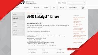 getlinkyoutube.com-التعريف جديد كروت شاشة AMD ل ويندوز 10