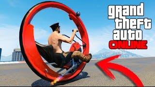 getlinkyoutube.com-INCREIBLE MOTO CON UNA SOLA RUEDA EN GTA 5 ONLINE !! GTA V MODS PC Makiman