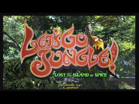 Let's Go Jungle: Lost On The Island Of Spice (ARC)  © Sega 2006   1/1