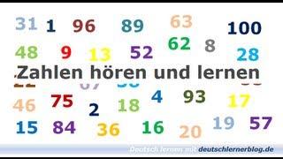 getlinkyoutube.com-Zahlen lernen und hören - Deutsch lernen - Learn German - Numbers