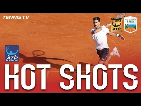 Hot Shot: Djokovic Guesses Right At Monte-Carlo 2017