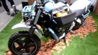 HONDA BULLDOG Concept Model in Tokyo Motorcycle Show 2015