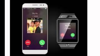 getlinkyoutube.com-שעון חכם Smart Watch (ללא תמיכה בעברית) הכולל טלפון מדגם GV08S