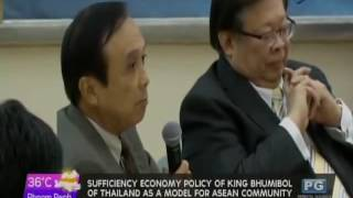 getlinkyoutube.com-Sufficiency economy policy of King Bhumibol of Thailand as a model for ASEAN Community