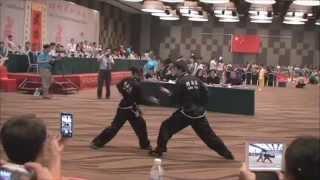 Lily Lau eagle claw kung fu