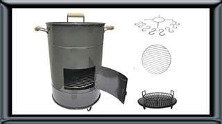 getlinkyoutube.com-fabricaparrillas.com.ar - Parrilla cilindro tanque tambor para cocinar morala