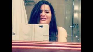getlinkyoutube.com-سما المصرى فى الحمام وتقول انا شعرى منكوش عشان انا فى الحمام وانا بحبكم اوى