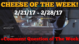 getlinkyoutube.com-CHEESE OF THE WEEK! 2/21/2017 - 2/28/2017 Hive Abomination Cheese Spot! PLUS CQOTW!