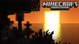 getlinkyoutube.com-Textura Realista (Shaders) - Minecraft PE v0.13.1