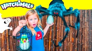 getlinkyoutube.com-HATCHIMALS Assistant Spooky Ghost Halloween Surprise Hatchimals Adventure Video