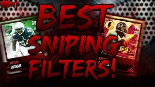getlinkyoutube.com-BEST SNIPING FILTERS! WHAT TO SNIPE! MADDEN MOBILE 17