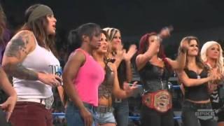TNA IMPACT 9/1/11 TNA Knockouts Segment