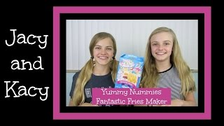 Lost Footage ~ Yummy Nummies ~ Fantastic Fries Maker Kit ~ Jacy and Kacy