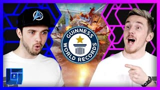 getlinkyoutube.com-Ali-A Vs Syndicate - Guinness World Records Attempt on COD:BO3 | Legends of Gaming