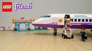 getlinkyoutube.com-Lego Friends Airplane and Airport Playset