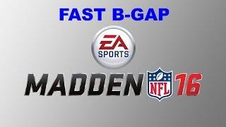 getlinkyoutube.com-Madden 16: DOUBLE B-GAP NANO BLITZ! SUPER Fast B-Gap Nano Blitz! Madden 16 Defensive Tips