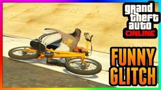 getlinkyoutube.com-GTA 5 Online: FUNNY BIKE GLITCH / RIDE SIDEWAYS! - Patch 1.32 & 1.27 - PS3/PS4/Xbox One/Xbox 360/PC